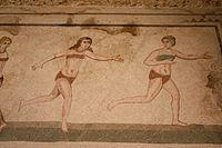 Bikini girls mosaic - Villa Romana del Casale - Italy 2015 (3).JPG