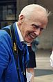Bill Cunningham at Fashion Week photographed by Jiyang Chen (cropped).jpg