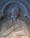 Detalje fra Torben Billes gravsten i Lunds domkirke.
