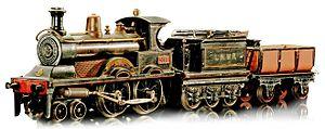 Bing (company) - King Edward live steam locomotive