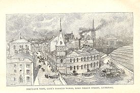 Copes Tobacco Works Nelson Street Liverpool