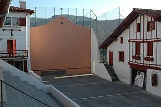 Biriatou - Basque pelota pitch