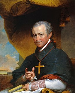 Bishop Jean-Louis Anne Magdelaine Lefebvre de Cheverus by Gilbert Stuart 1823