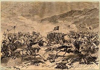 Serbian–Ottoman War (1876–1878) - The Morava Battles – August 1876