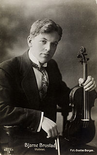 Bjarne Brustad Norwegian musician