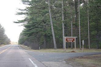 Black River State Forest - Entrance sign