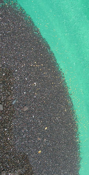 Heavy mineral sands ore deposits - Black sand concentrates