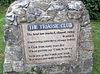 Blackgang Chine, Triassic Club sign