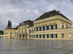 International Institute for Applied Systems Analysis - Image: Blauer Hof Laxenburg 3 4