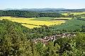 """Blick auf den südwestlichen Teil des Naturparks """"Eichsfeld-Hainich-Werratal"""".jpg"""