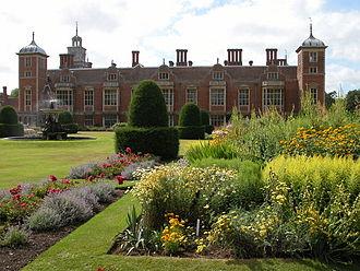 Blickling Hall - Norah Lindsay's replanting of the parterre garden