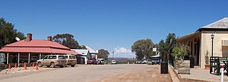 Blinman Town in South Australia