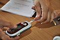 Blood Glucose Testing - Kolkata 2011-07-25 3981.JPG