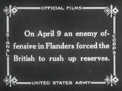 Fil:Bloody WWI Footage! 1918 World War I - Public Domain Blockbuster.webm