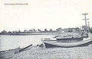 Boat Landing, Wells Beach, ME