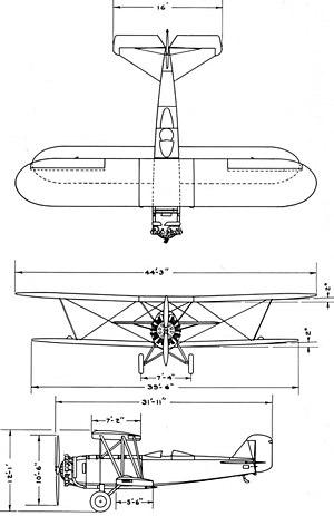 Boeing Model 95 - Boeing model 95 drawing