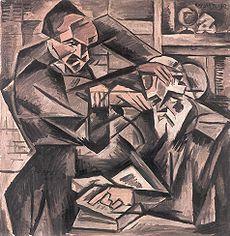 Hipnotizador -  Bohumil Kubišta  (1912)