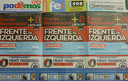 Resultado de imagen para argentina elecciones legislativas 2017