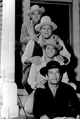 Bonanza full cast 1962.JPG