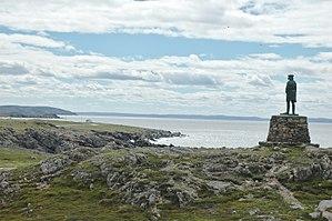 John Cabot - A statue of John Cabot gazing across Bonavista Bay