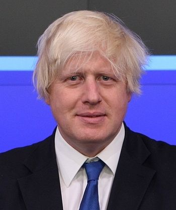 English: Mayor of London, Boris Johnson poses ...