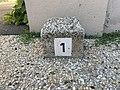 Borne Hectométrique 1 Grande Rue Montrevel Bresse 1.jpg