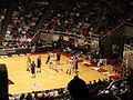 Boston College Eagles vs. University of the Pacific Tigers, First Round, NCAA Men's Basketball Tournament, Huntsman Center, University of Utah, Salt Lake City, Utah (114271275).jpg