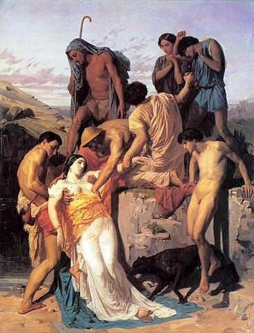 Зенобия, найденная на берегу Аракса. 1850, Французская академия в Риме