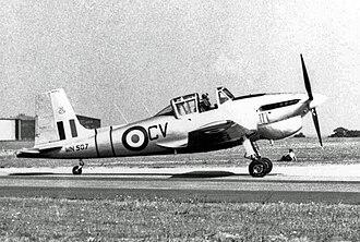 Boulton Paul Balliol - Balliol T.2 in 1955