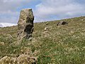 Boundary stone, Western Beacon - geograph.org.uk - 1274117.jpg