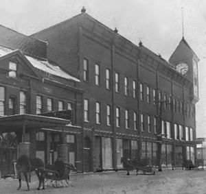 National Register of Historic Places listings in Marquette County, Michigan - Image: Braastad store