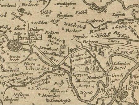 Brabantia Ducatus Brussels 1628