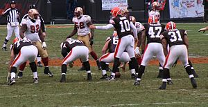 Brady Quinn - Quinn's NFL debut as a Brown