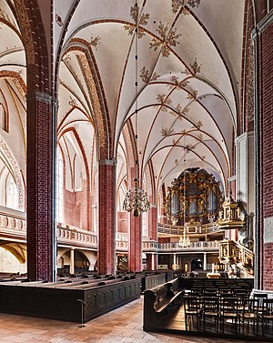 Interior of the Katharinenkirche
