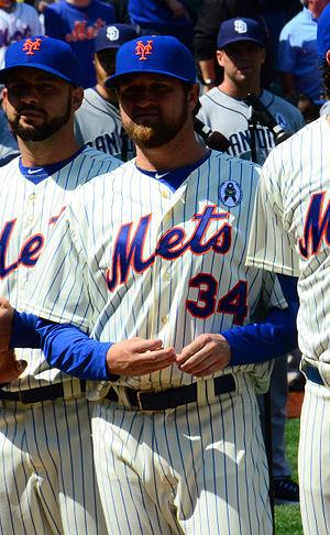 Brandon Lyon - Lyon with the New York Mets