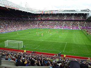 Football at the 2012 Summer Olympics – Men's tournament - Match between Brazil and Belarus