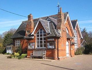 Brent Eleigh village in the United Kingdom