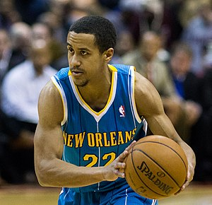 Brian Roberts (basketball) - Roberts, playing with the New Orleans Hornets.