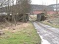 Bridge buttresses, Balmeadie - geograph.org.uk - 1153798.jpg