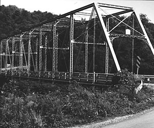 Greenwood Township, Clearfield County, Pennsylvania - The Bridge in Greenwood Township