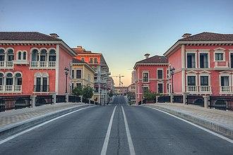 The Pearl-Qatar - Bridge in Qanat Quartier