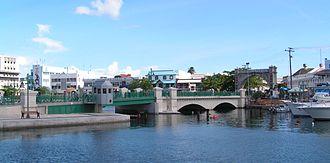 Chamberlain Bridge - Chamberlain Bridge, Bridgetown