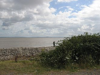 Bridgwater Bay - Bridgwater Bay near the mouth of the River Parrett