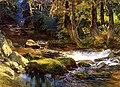 Bridgman, Frederick Arthur - River Landscape with Deer.jpg