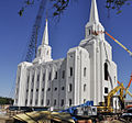 Brigham City Temple construction.jpg