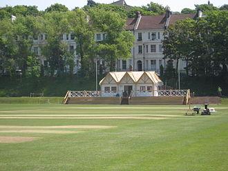 Brighton College - Brighton College's cricket pavilion