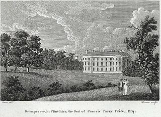 Brinapreece, in Flintshire, the Seat of Francis Parry Price, Esq
