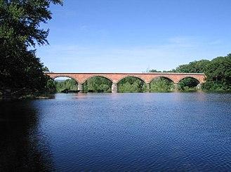 Brioude - Bridge over the Allier