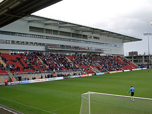 Leyton Orient F.C. - West Stand viewed from South Stand