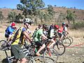 Brisbane Valley Rail Trail opening Linville 2006.jpg